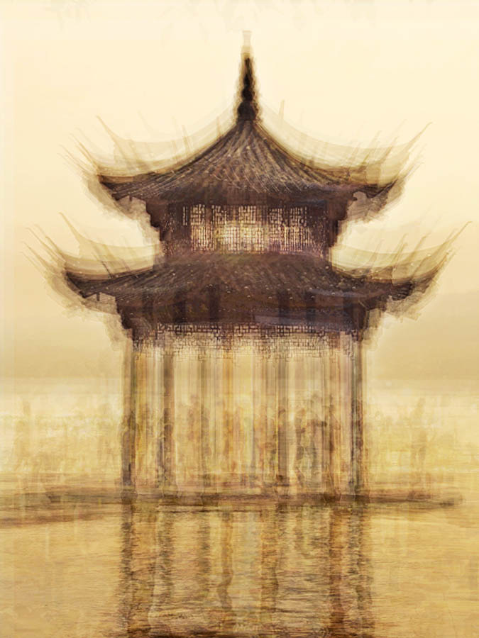 The Hangzhou Floating Pagoda