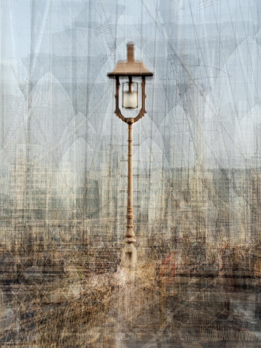 Brooklyn Bridge Street Lamp