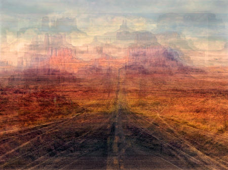 The Road to Monument Valley (Utah)