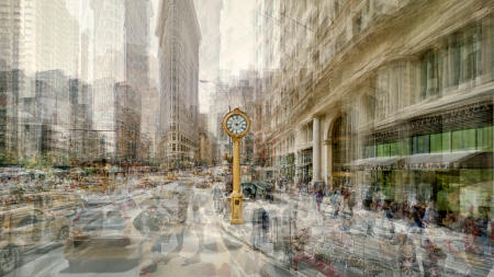 Fifth Avenue Clock, New York